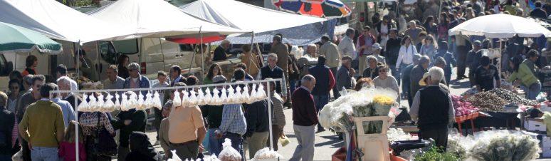 mercados e feiras