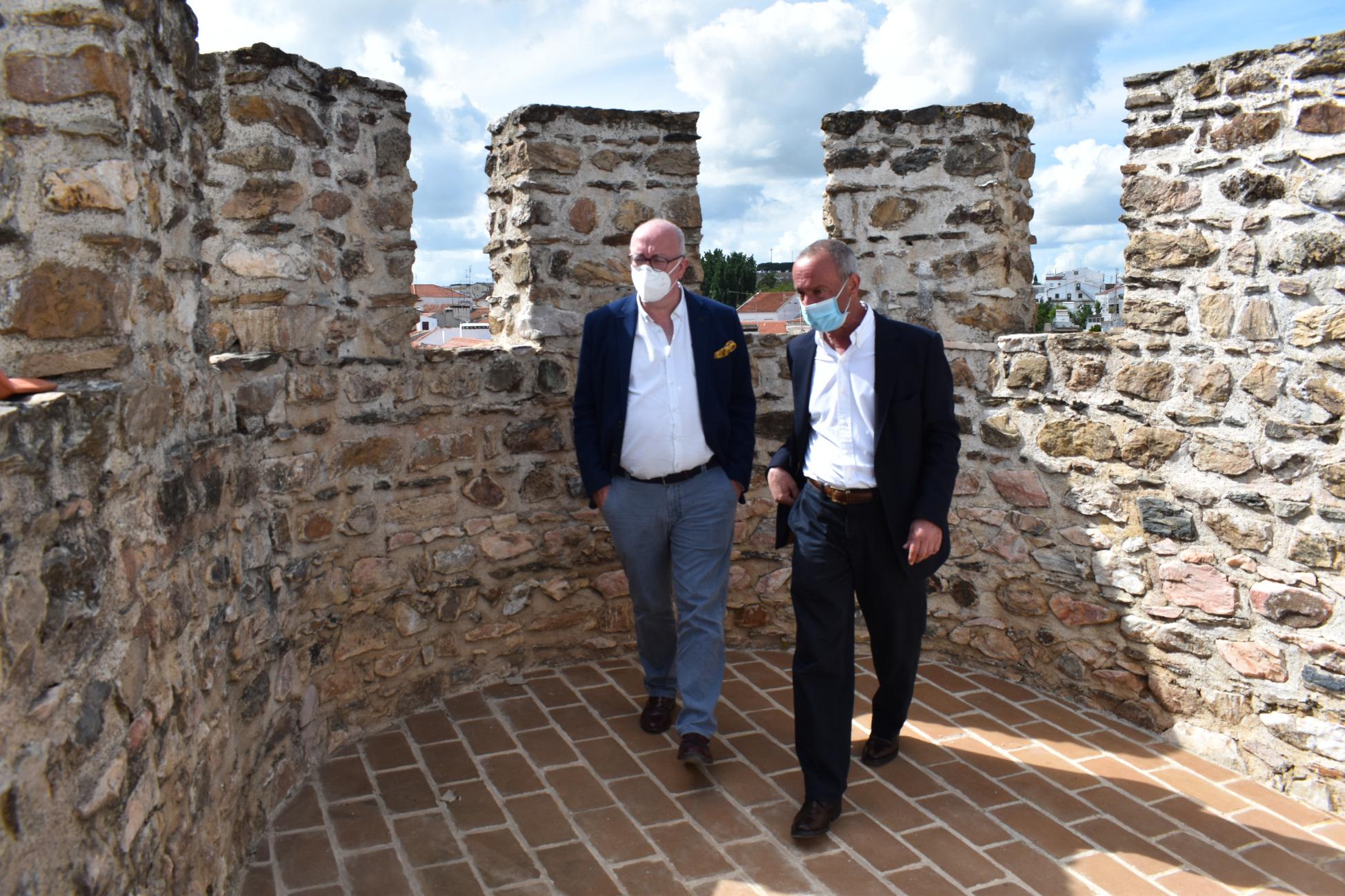 Presidente da CCDR Alentejo visita obras em Borba
