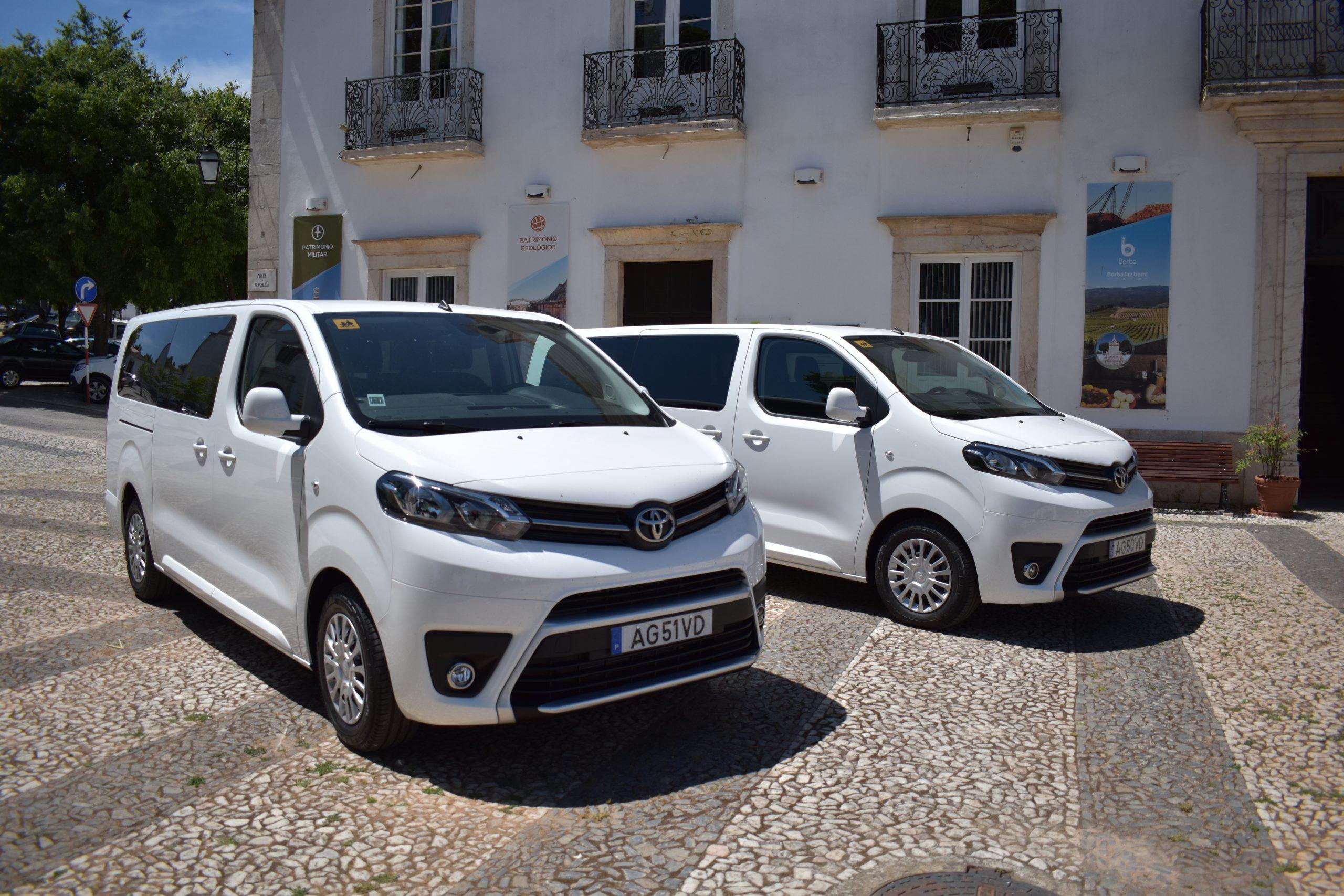 Município de Borba compra novas carrinhas para o Transporte Escolar