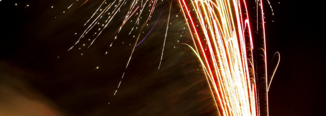 Espetáculo de fogo-de-artifício